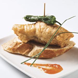 Bacallà amb tempura
